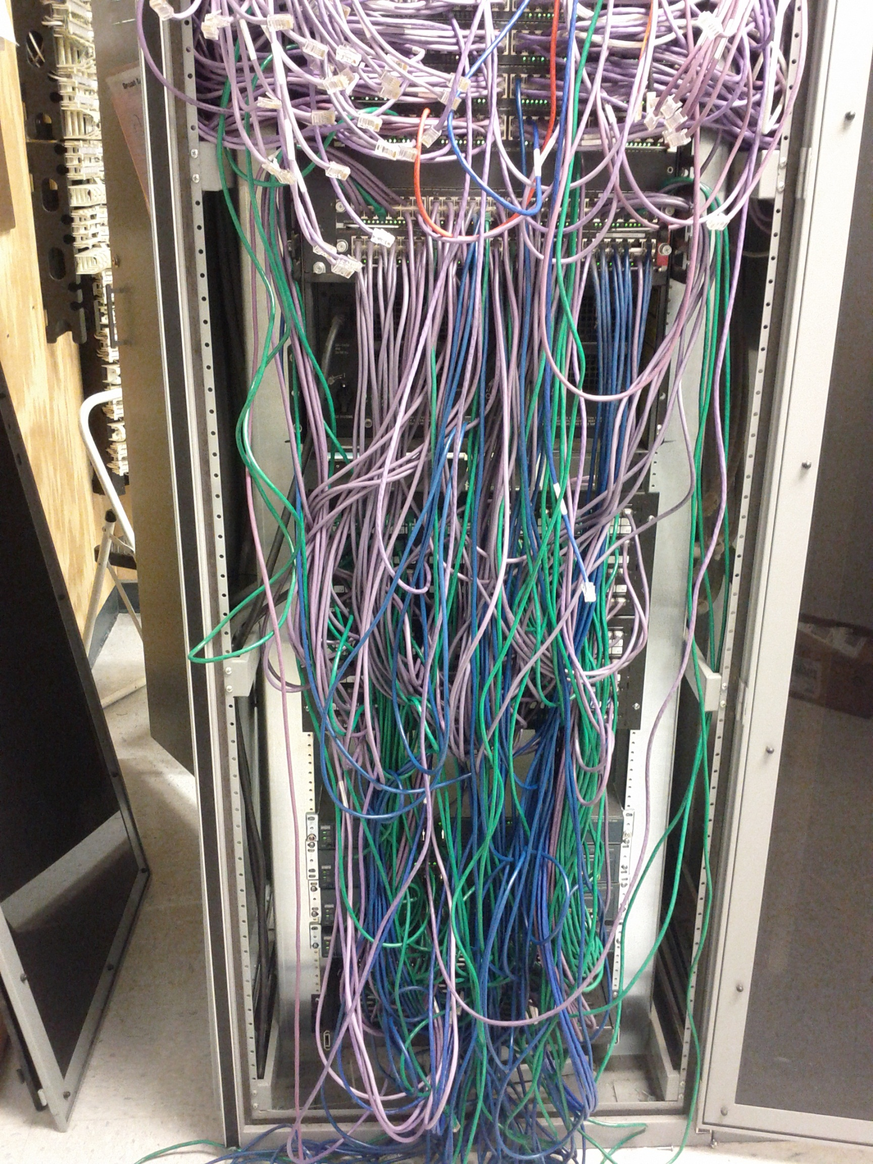 IDF Mess s cable management fun with a cisco 6509 techvirtuoso idf wiring at edmiracle.co
